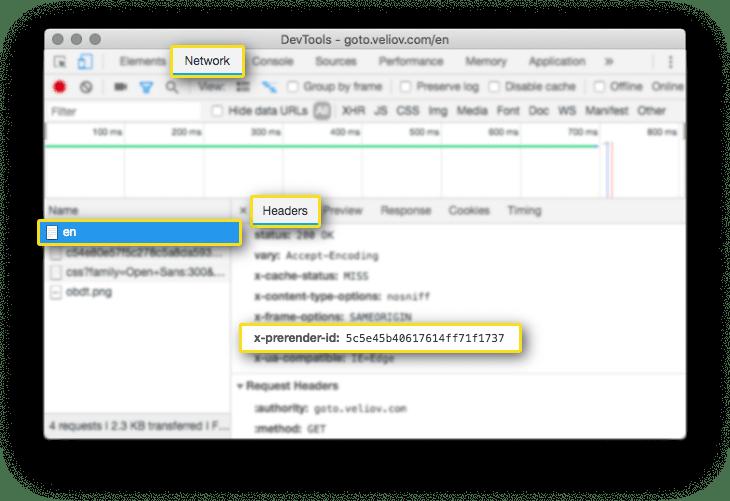 Prerendering (SEO/SSR) for JavaScript websites